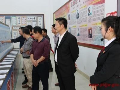 县委政法委等单位干部职工到县法院开展廉政教育主题党日活动