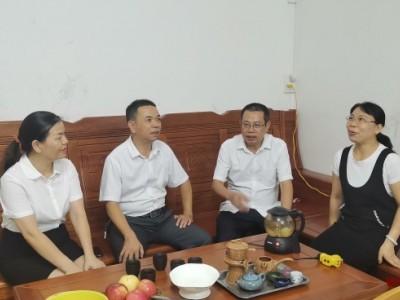 浦北县人民医院开展廉政家访活动
